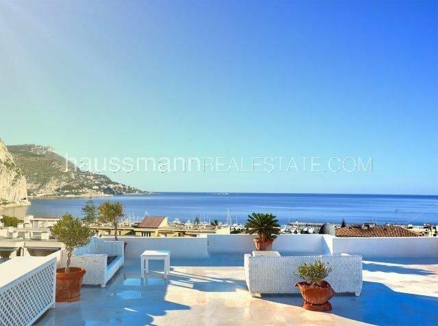 au coeur de beaulieu sur mer, toit terrasse dans bel immeuble bourgeois