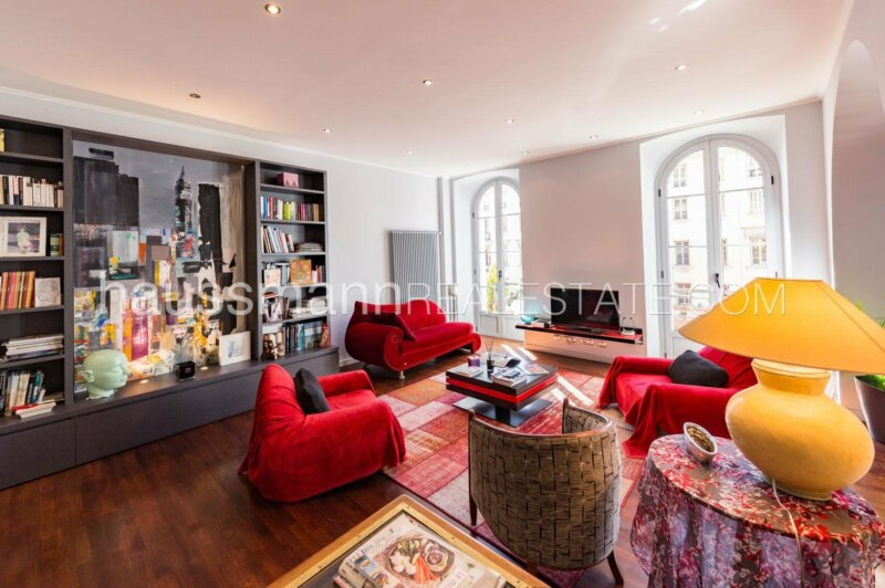 bourgeois de 112 m2, rénové,  boulevard victor hugo