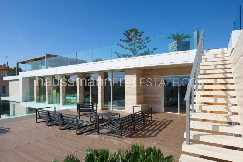 duplex neuf avec piscine au centre de beaulieu sur mer, à 2 pas du port