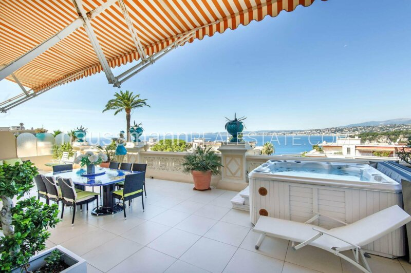 luxueux appartement - belle epoque avec terrasse