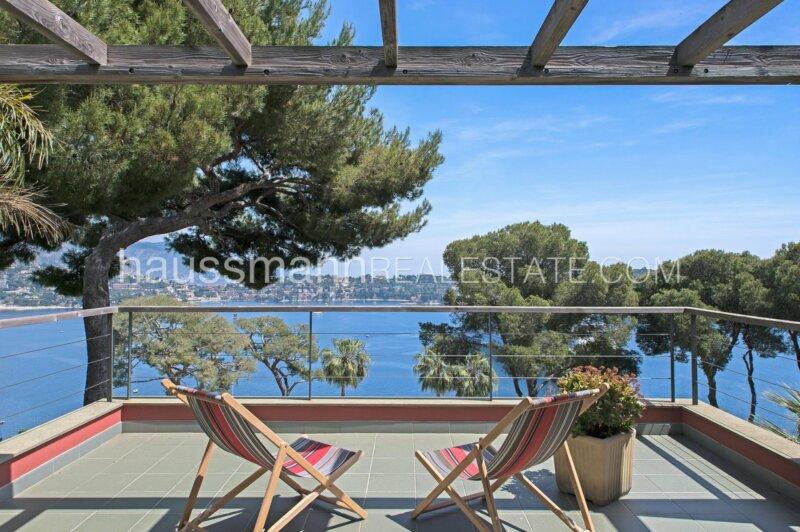 mont boron - villa contemporaine vue mer