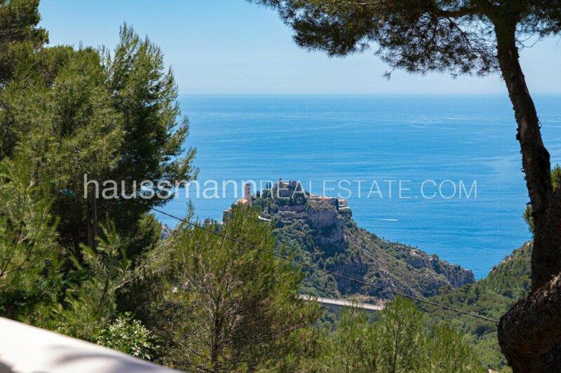 provençale avec vue mer panoramique à 10 minutes de monaco