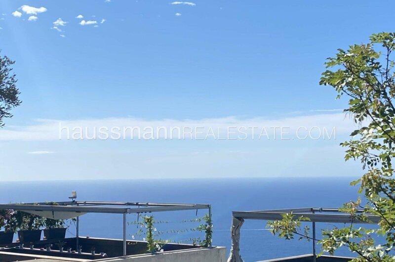 rez de jardin de 3 pièces neuf de 73 m2 avec vue mer et piscine