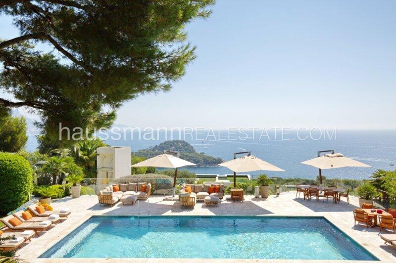 saint jean cap ferrat - villa moderne avec prestations de luxe