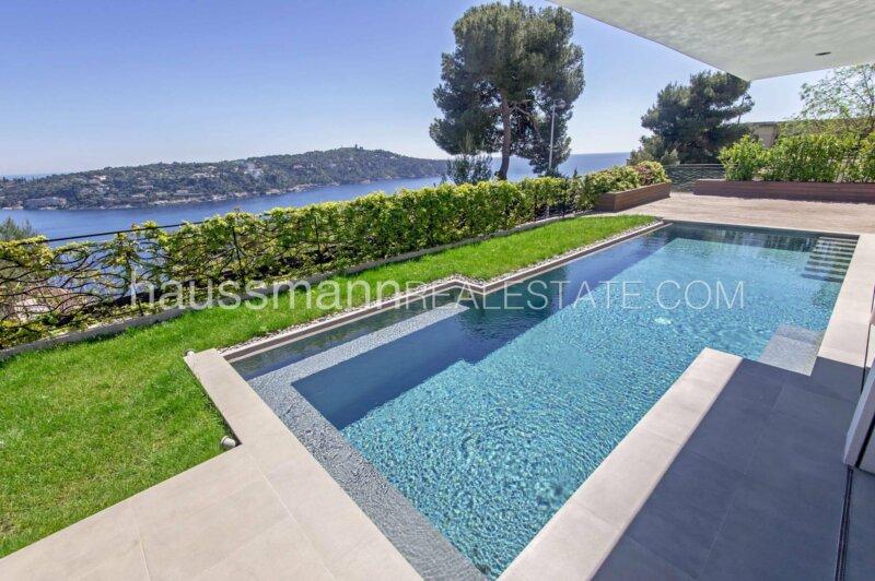 villa californienne vue mer face au cap ferrat
