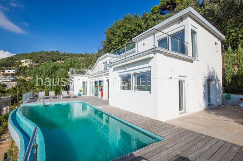 villa contemporaine au calme absolu