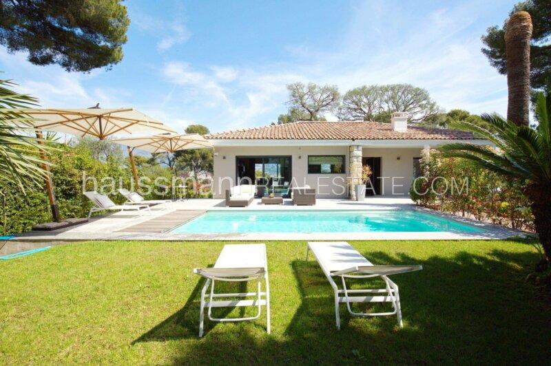 villa contemporaine avec vue mer et piscine proche monaco