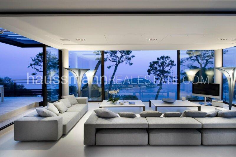 villa moderne avec vue mer panoramique
